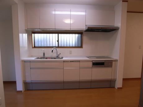 広々とした使いやすいキッチン。